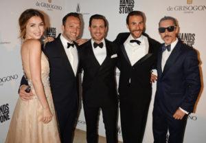 (L) Ana de Armas, Jay Weisleder, Edgar Ramirez, Ben Silverman, Oscar Jaenada